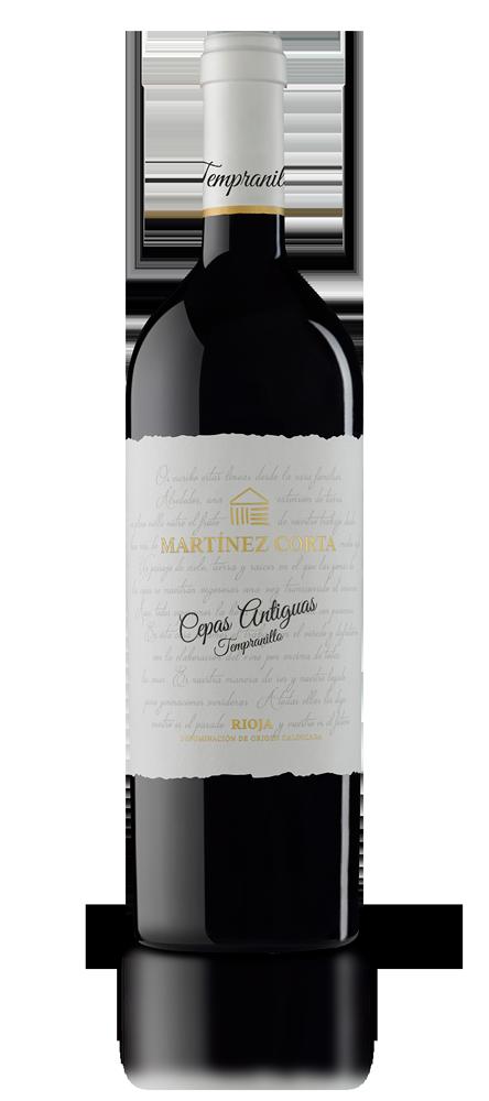 Botella Martinez Corta CEPAS ANTIGUAS Tempranillo